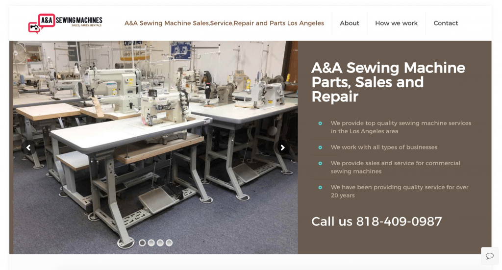 A&A Sewing Machine Sales Repair