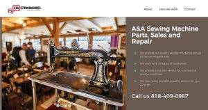 Sewing Machine Repair Los Angeles