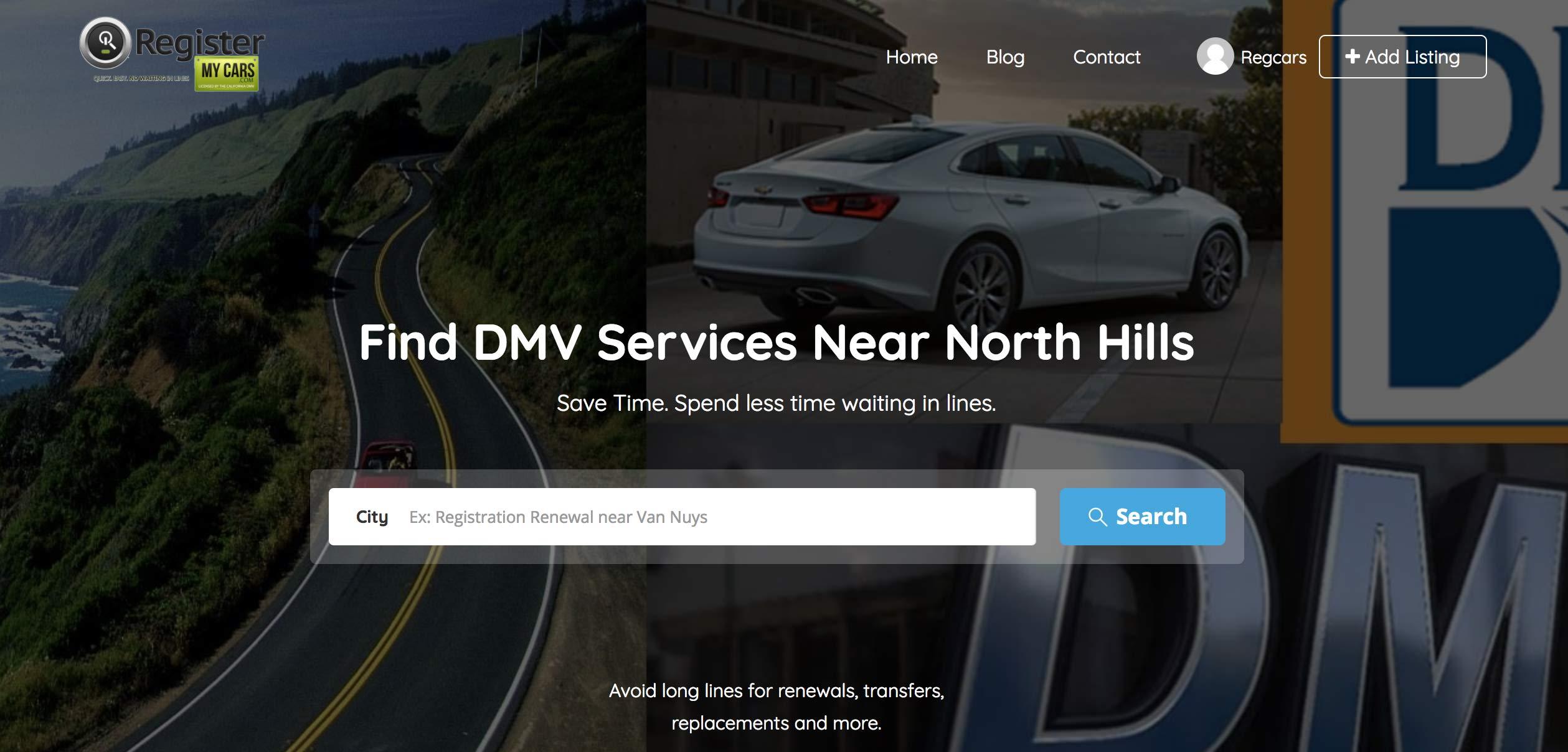 Vehicle Registration Renewals