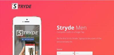 Retail Fashion App for men