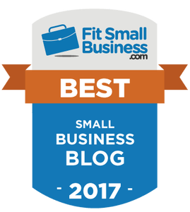 Fit Small Business Best Blog Badge
