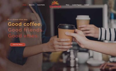 Restaurant & Coffee Shop Website Development