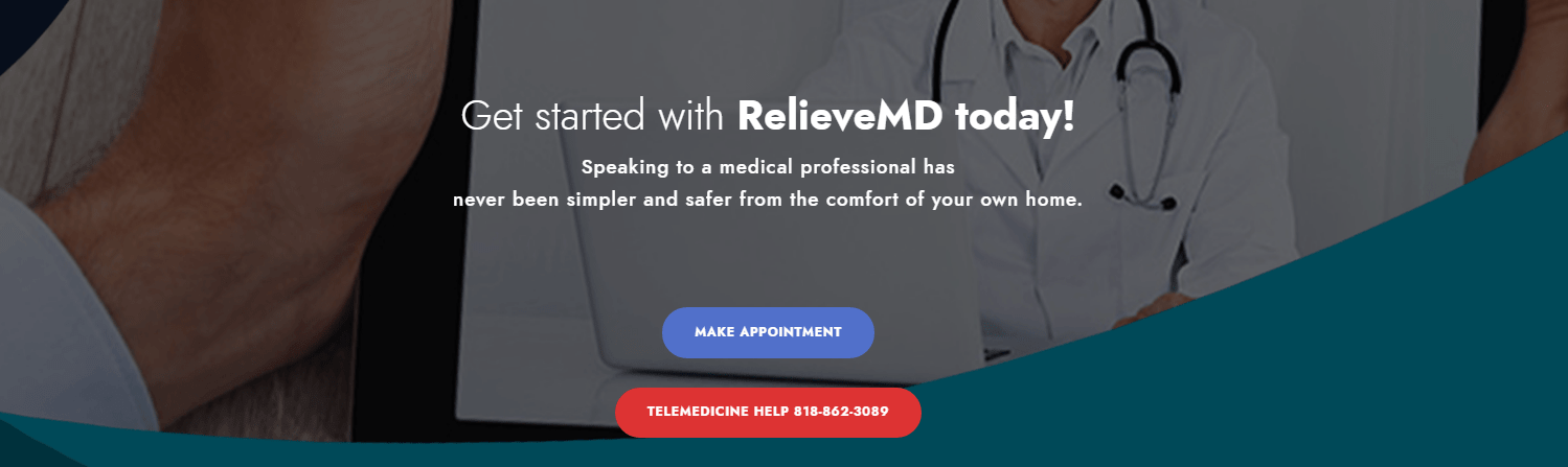 Relievemd Make Appointment